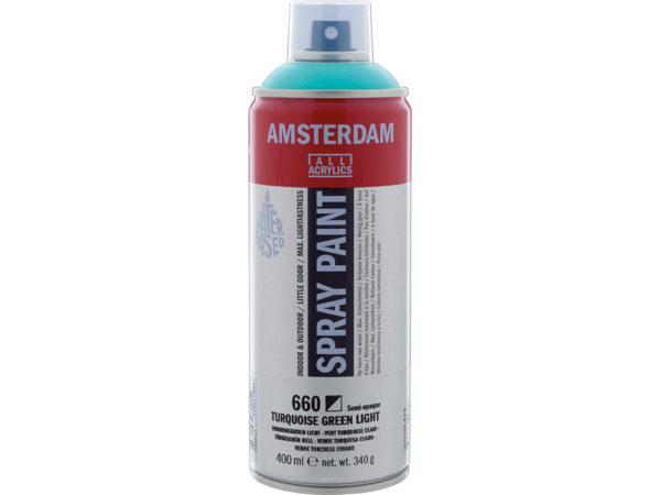 Amsterdam Spray 400ml - 660 Turquoise green light