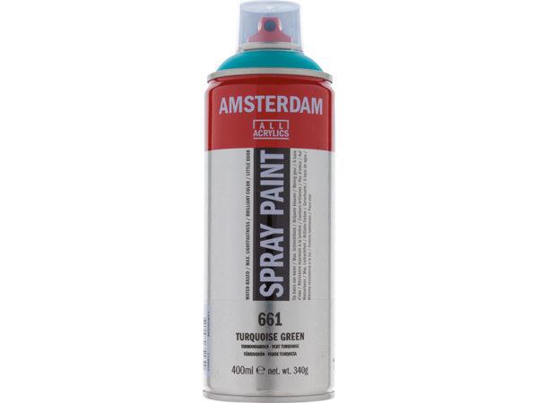 Amsterdam Spray 400ml - 661 Turquoise green