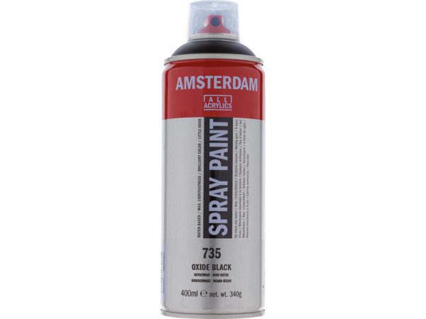 Amsterdam Spray 400ml - 735 Oxide black