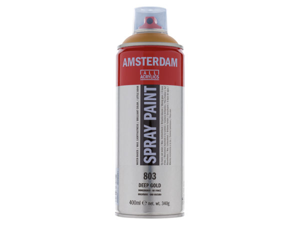 Amsterdam Spray 400ml - 803 Deep gold