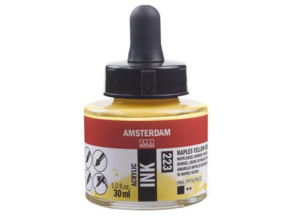 Amsterdam Ink 30ml - 223 Naples Yellow