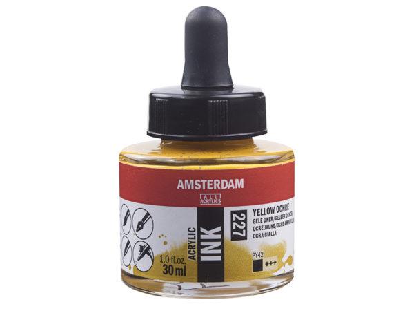 Amsterdam Ink 30ml - 227 Yellow Ochre