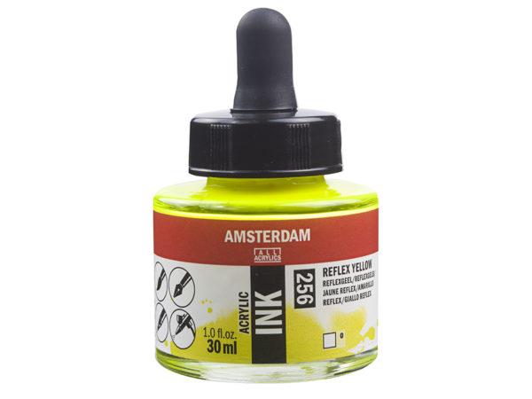 Amsterdam Ink 30ml - 256 Reflex Yellow