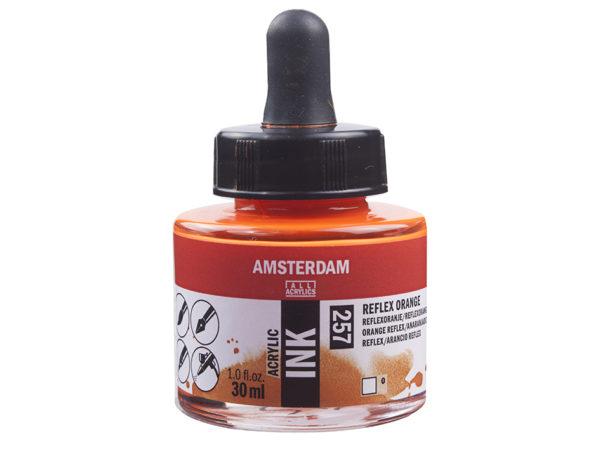 Amsterdam Ink 30ml - 257 Reflex Orange