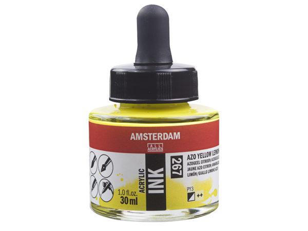 Amsterdam Ink 30ml - 267 Azo Yellow Lemon