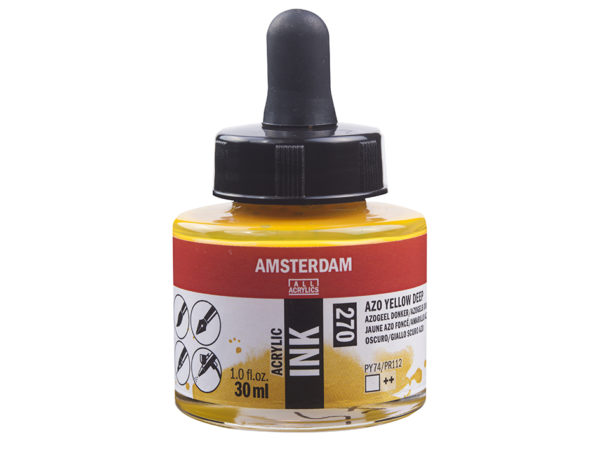 Amsterdam Ink 30ml - 270 Azo Yellow Deep