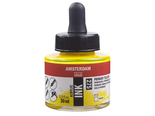 Amsterdam Ink 30ml - 275 Primary Yellow