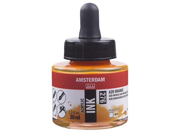 Amsterdam Ink 30ml - 276 Azo Orange