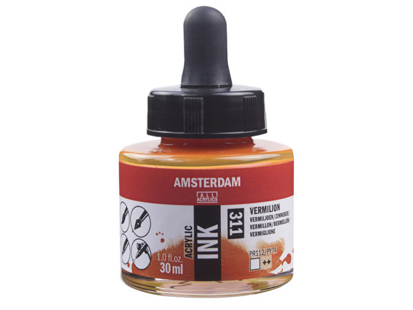 Amsterdam Ink 30ml - 311 Vermillion