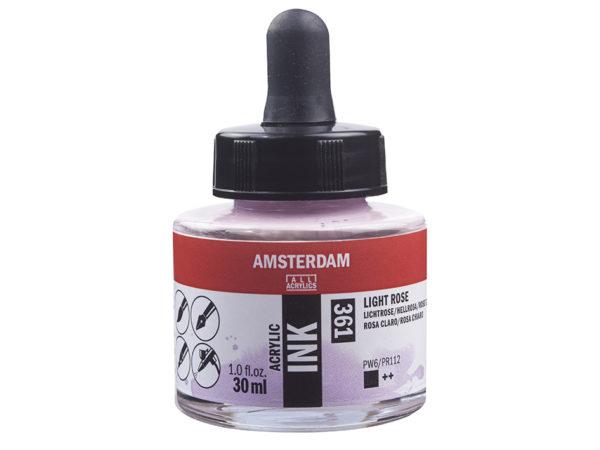 Amsterdam Ink 30ml - 361 Light Rose