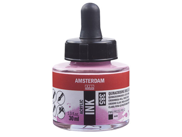Amsterdam Ink 30ml - 385 Quinarose LT