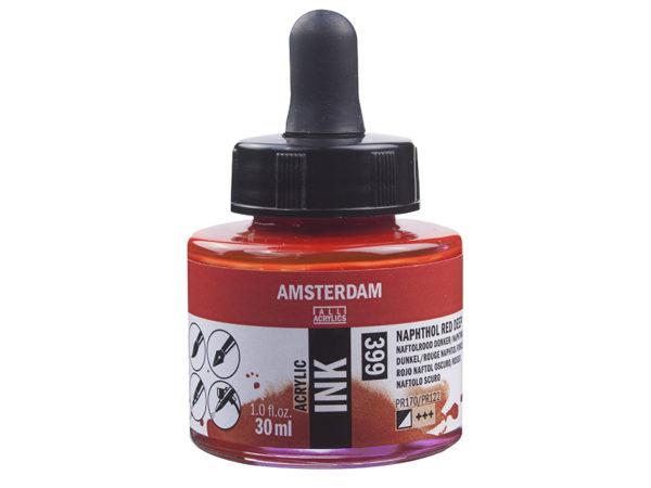 Amsterdam Ink 30ml - 399 Naphthol Red Deep