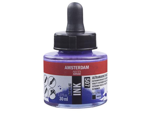 Amsterdam Ink 30ml - 507 Ultramarine Violet