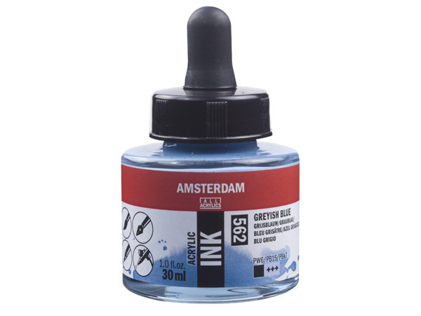 Amsterdam Ink 30ml - 562 Greyish Blue