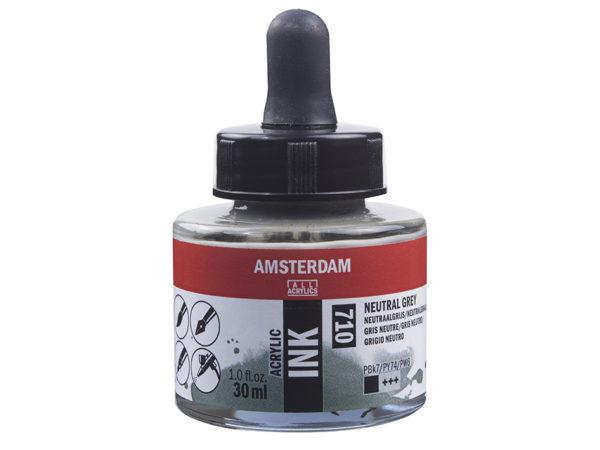 Amsterdam Ink 30ml - 710 Neutral Grey