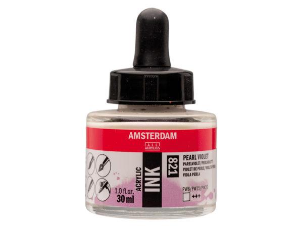 Amsterdam Ink 30ml - 821 Pearl Violet