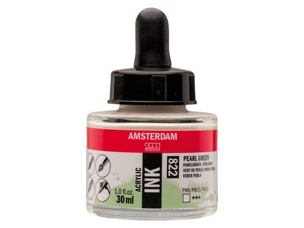 Amsterdam Ink 30ml - 822 Pearl Green