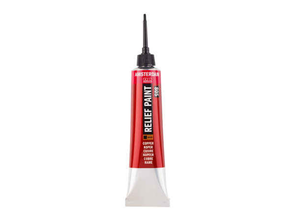 Amsterdam Relief Paint 20ml - 805 Copper
