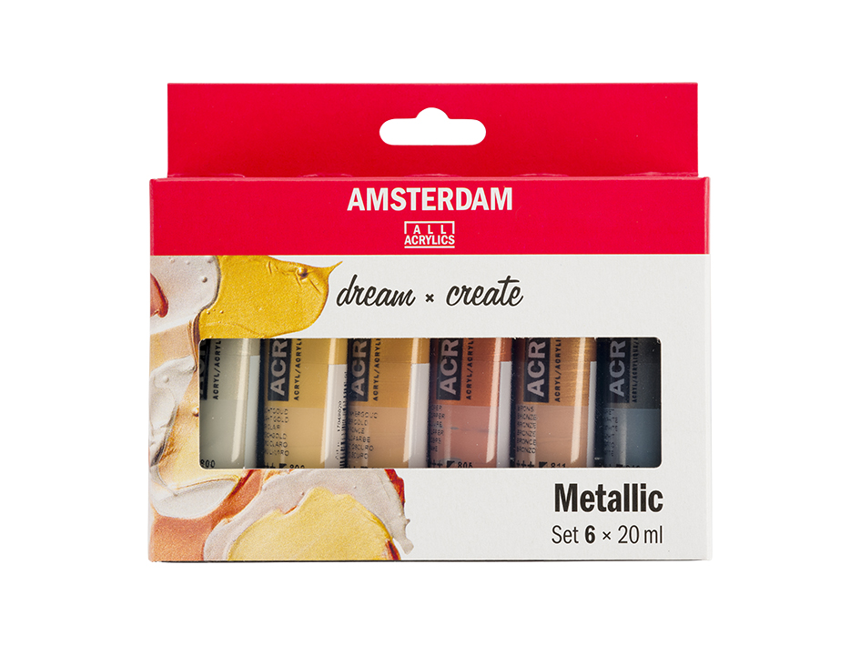 Amsterdam Standard 20ml - Metallic 6ass