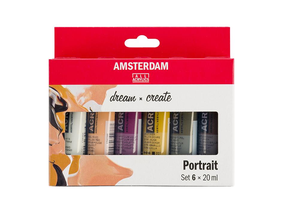 Amsterdam Standard 20ml - Portrett 6ass
