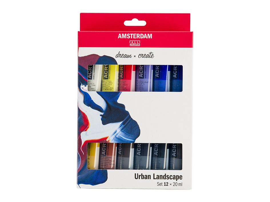 Amsterdam Standard 20ml - Urban Landskap Sett 12ass