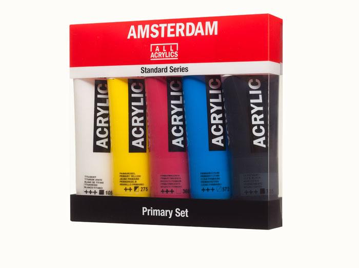 Amsterdam Standard 5 tuber Primary Set