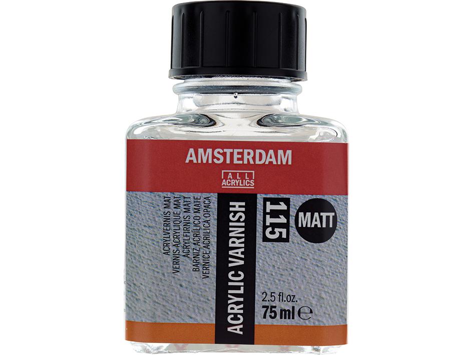 Amsterdam Acrylic Varnish Matt 115 - 75ml