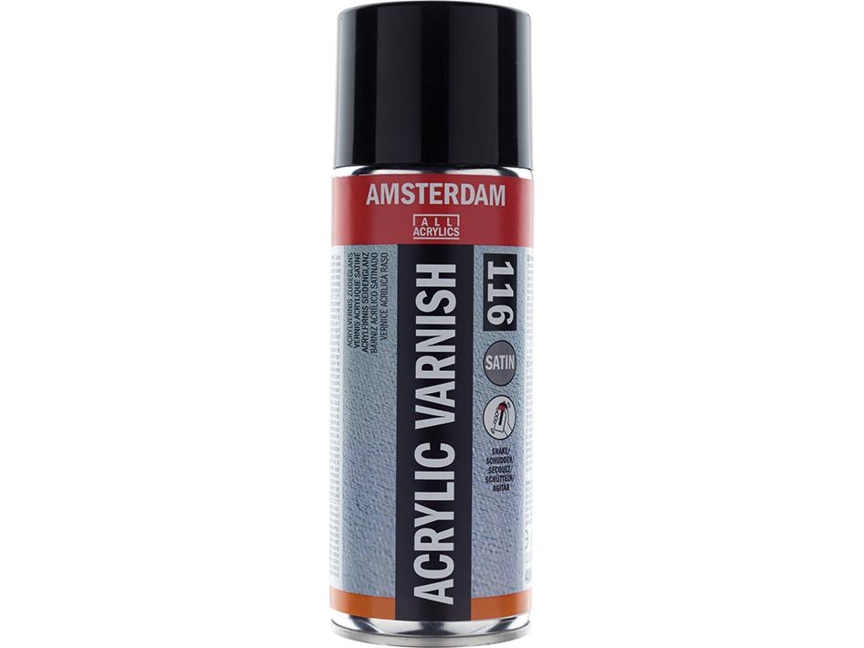 Amsterdam Acrylic Varnish Satin 116 - 400ml Spray