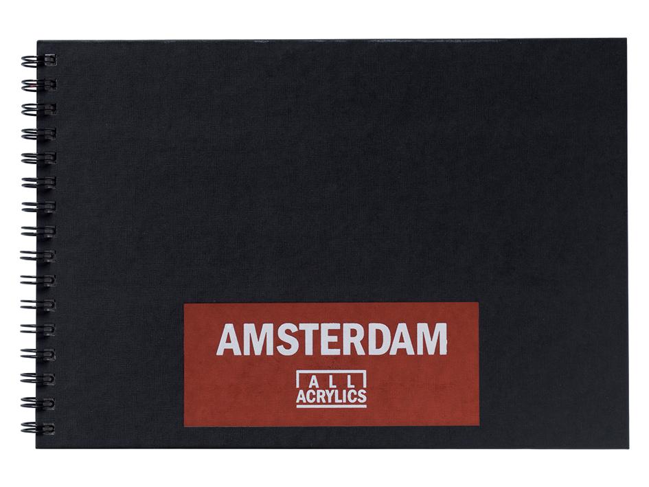 Amsterdam Black Book A4 - 30ark - 250g