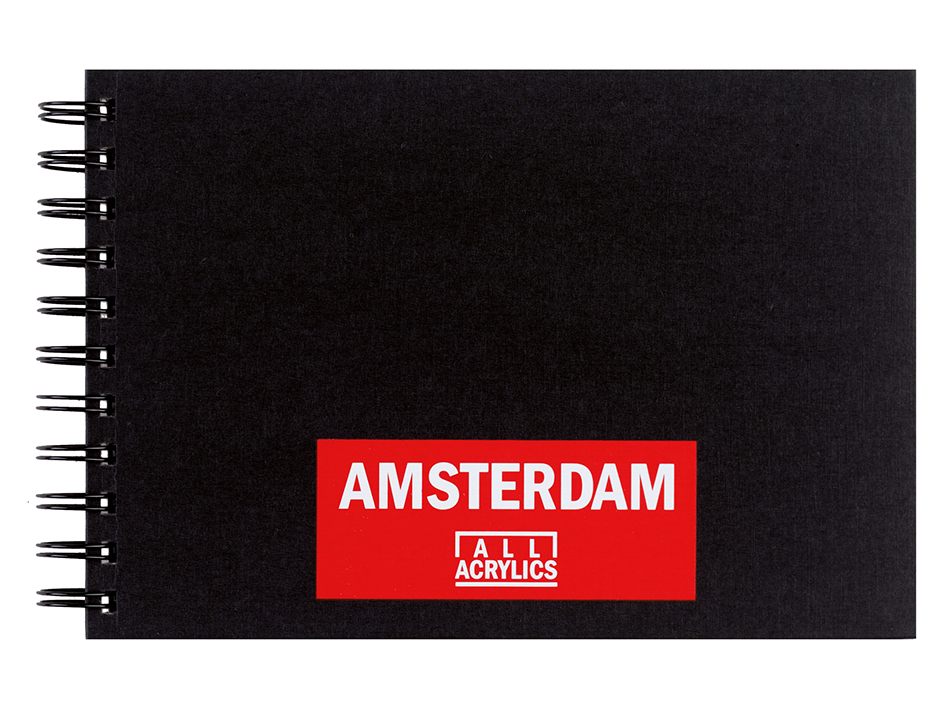 Amsterdam Black Book A5 - 30ark - 250g