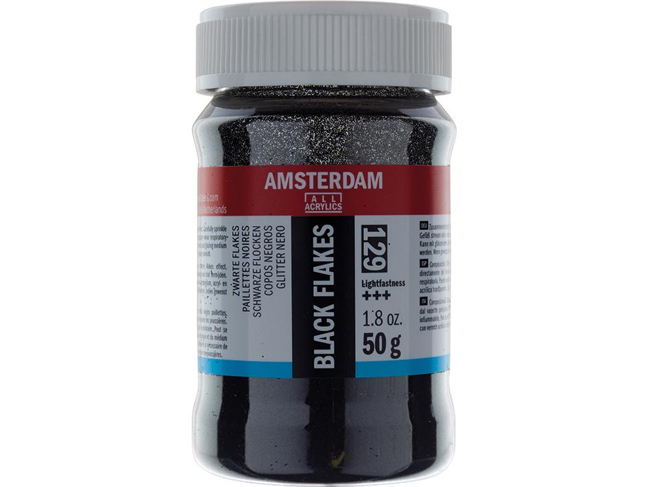 Amsterdam Effect Medium - Black Flakes 129 50g