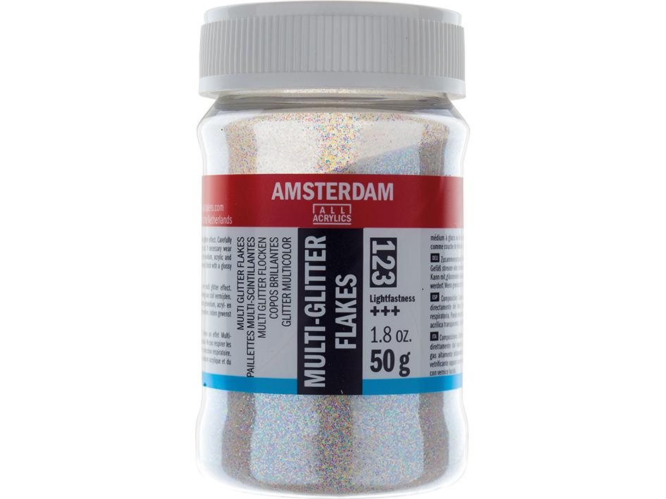 Amsterdam Effect Medium - Multi Glitter flakes 123 50g