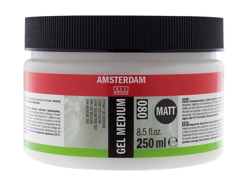 Amsterdam Gel Medium 080 - Matt - 250ml