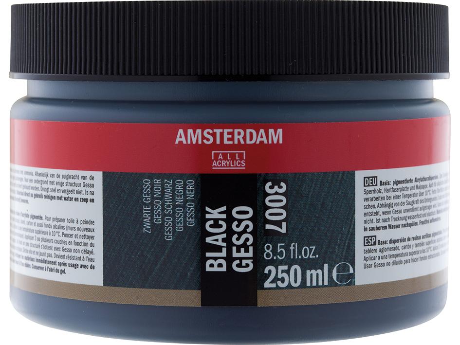 Amsterdam Gesso Black 3007 - 250ml