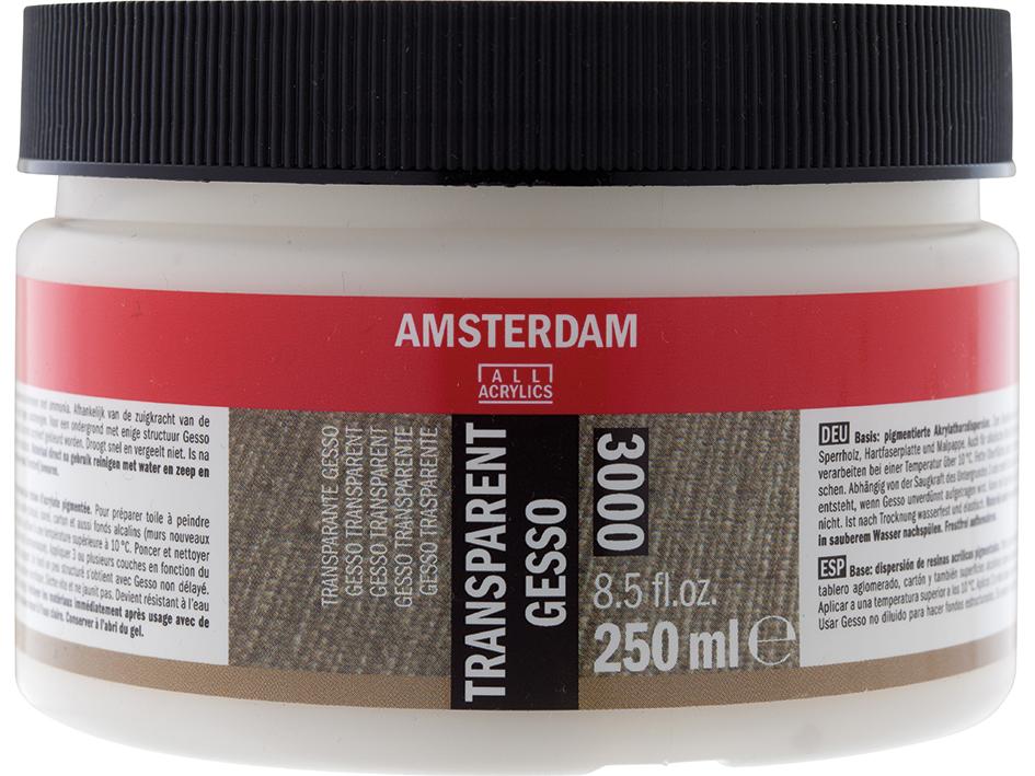 Amsterdam Gesso Transparent 3000 - 250ml