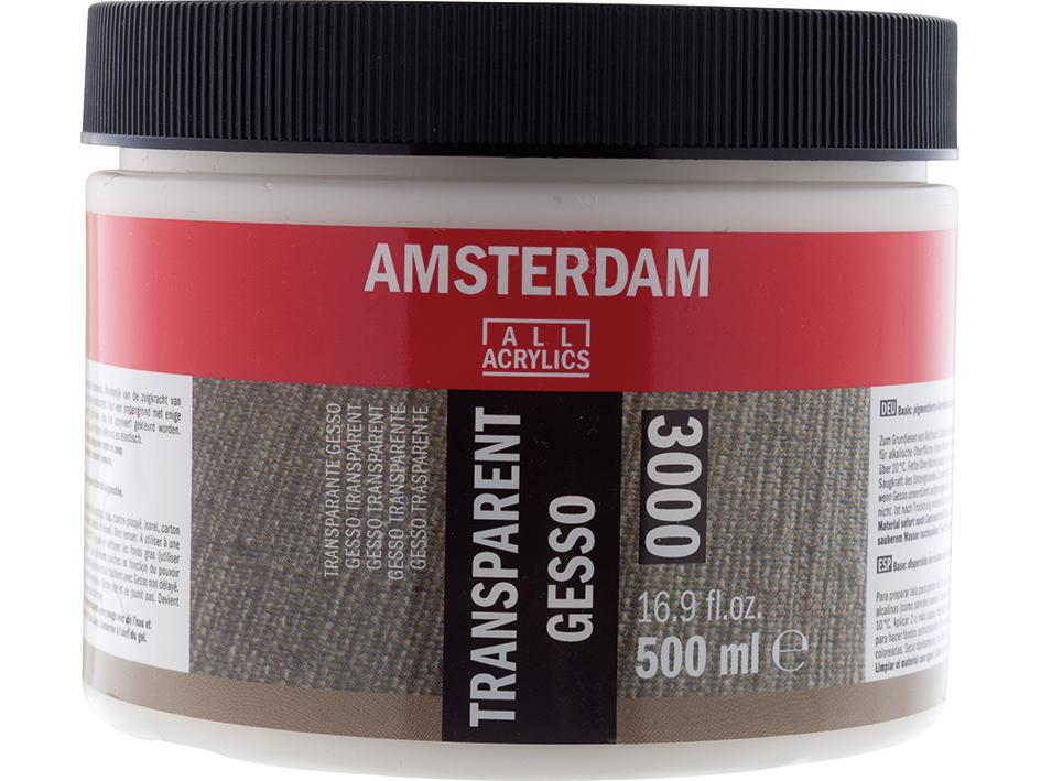 Amsterdam Gesso Transparent 3000 - 500ml