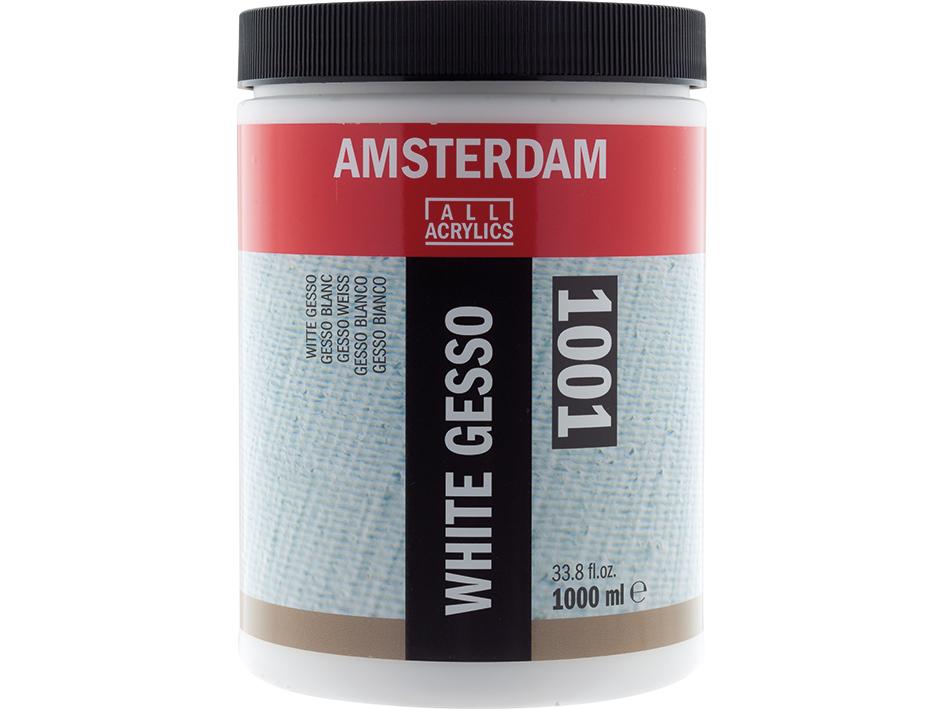 Amsterdam Gesso White 1001 - 1000ml