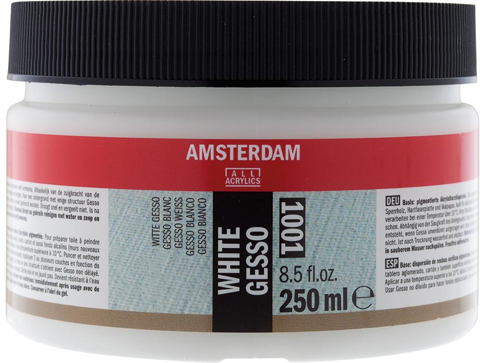 Amsterdam Gesso White 1001 - 250ml