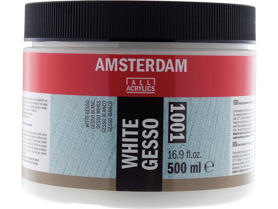 Amsterdam Gesso White 1001 - 500ml