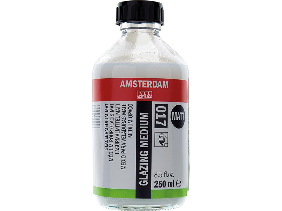 Amsterdam Glazing Medium 017 - Matt - 250ml