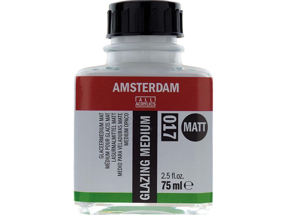 Amsterdam Glazing Medium 017 - Matt - 75ml