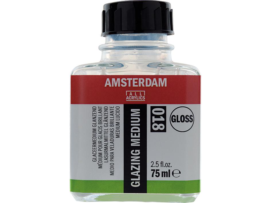 Amsterdam Glazing Medium 018 - Gloss - 75ml
