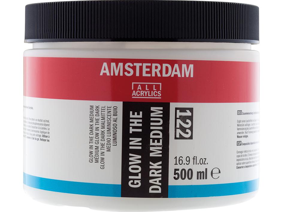 Amsterdam Glow in the Dark Medium 122 - 500ml