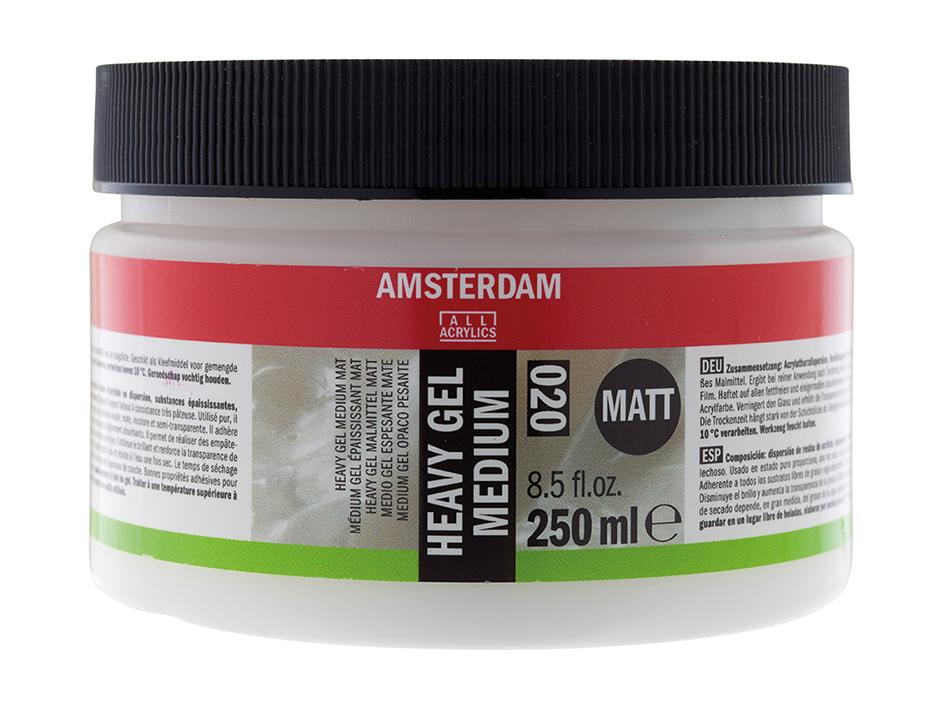 Amsterdam Heavy Gel Medium Matt 020 - 250ml