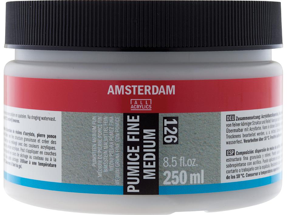 Amsterdam Pumice Fine Medium126 - 250ml