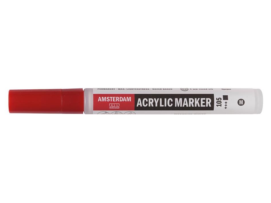 Amsterdam Marker 4mm - 105 Titanium white