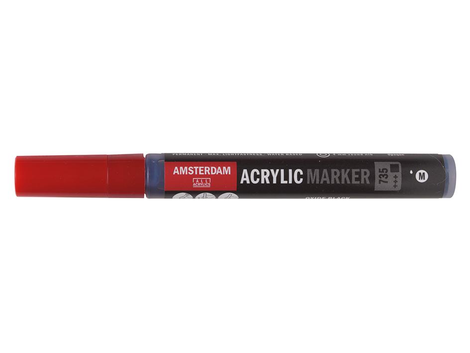 Amsterdam Marker 4mm - 735 Oxide black