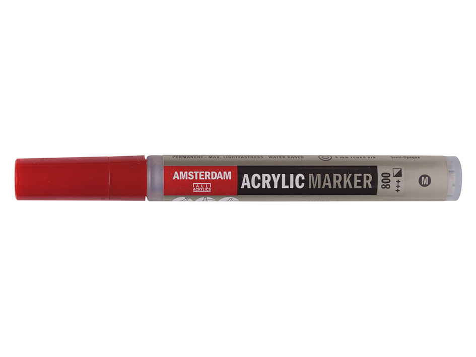 Amsterdam Marker 4mm - 800 Silver
