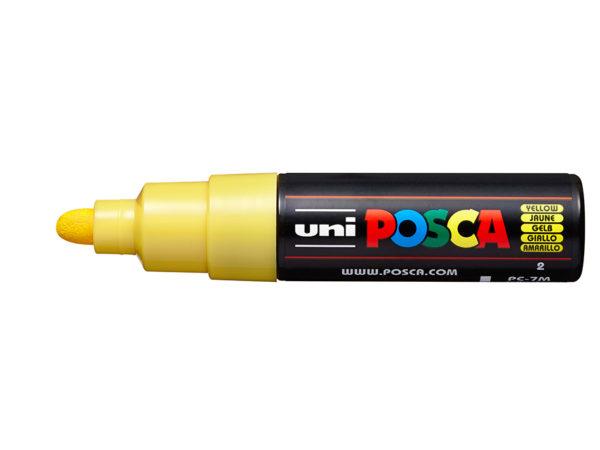 Uni POSCA PC-7M - Bullet 4,5-5,5mm - 2 Yellow