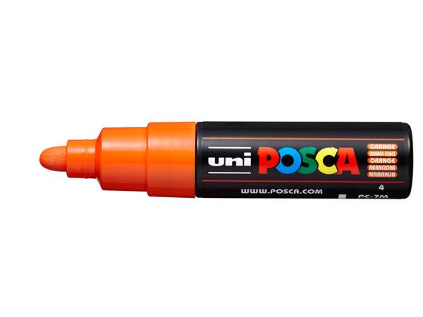 Uni POSCA PC-7M - Bullet 4,5-5,5mm - 4 Orange